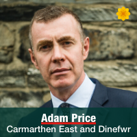 Adam Price - Carmarthen East and Dinefwr