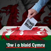 'Dw i o blaid Cymru