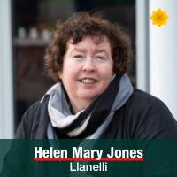 Helen Mary Jones - Llanelli