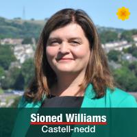 Sioned Williams - Castell-nedd