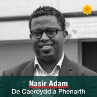 Nasir Adam - De Caerdydd a Phenarth