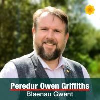 Peredur Owen Griffiths - Blaenau Gwent