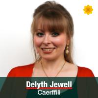 Delyth Jewell - Caerffili