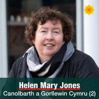 Helen Mary Jones - Canolbarth a Gorllewin Cymru (2)