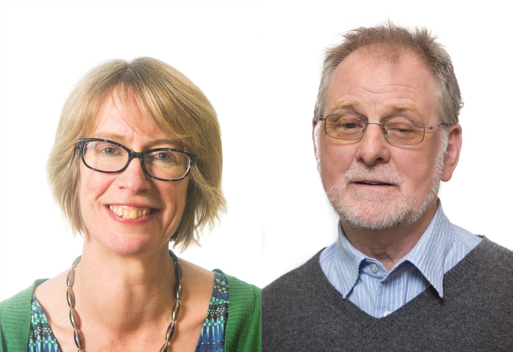 Plaid Cymru Councillors Menna Baines, Pentir & Dafydd Owen, Tregarth and Mynydd Llandygai