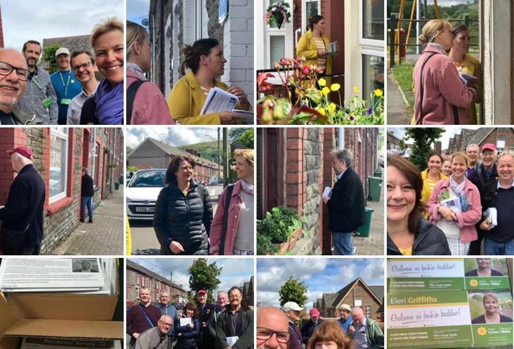 Rhondda ward byelection collage 1