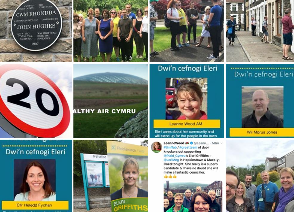 Rhondda ward byelection collage 2