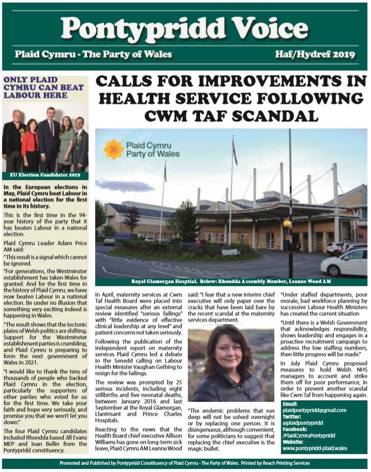 page 1 newspaper