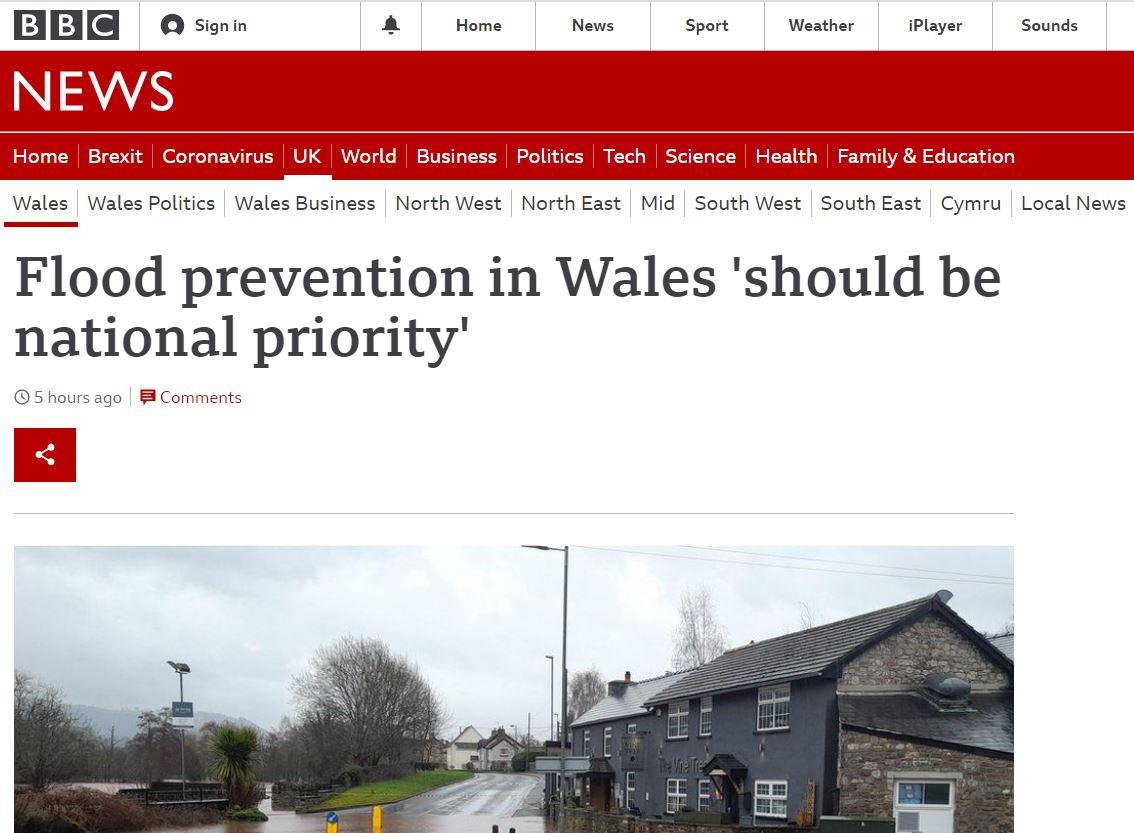 BBC Flood Feb 2021
