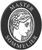 The coveted Master Sommelier badge, awarded only to the best by the Court of Master Sommeliers (Americas)