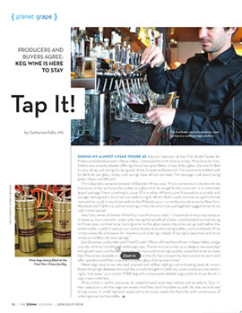 Thumbnail of {Planet Grape} column in the June-July issue of The SOMM Journal