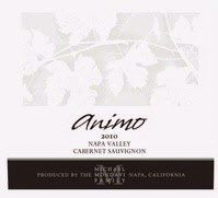 Bottle of 2010 Michael Mondavi Animo Cabernet