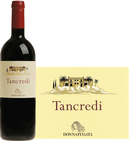 Bottle (and label) of 2009 Donnafugata Tancredi Sicilia IGP