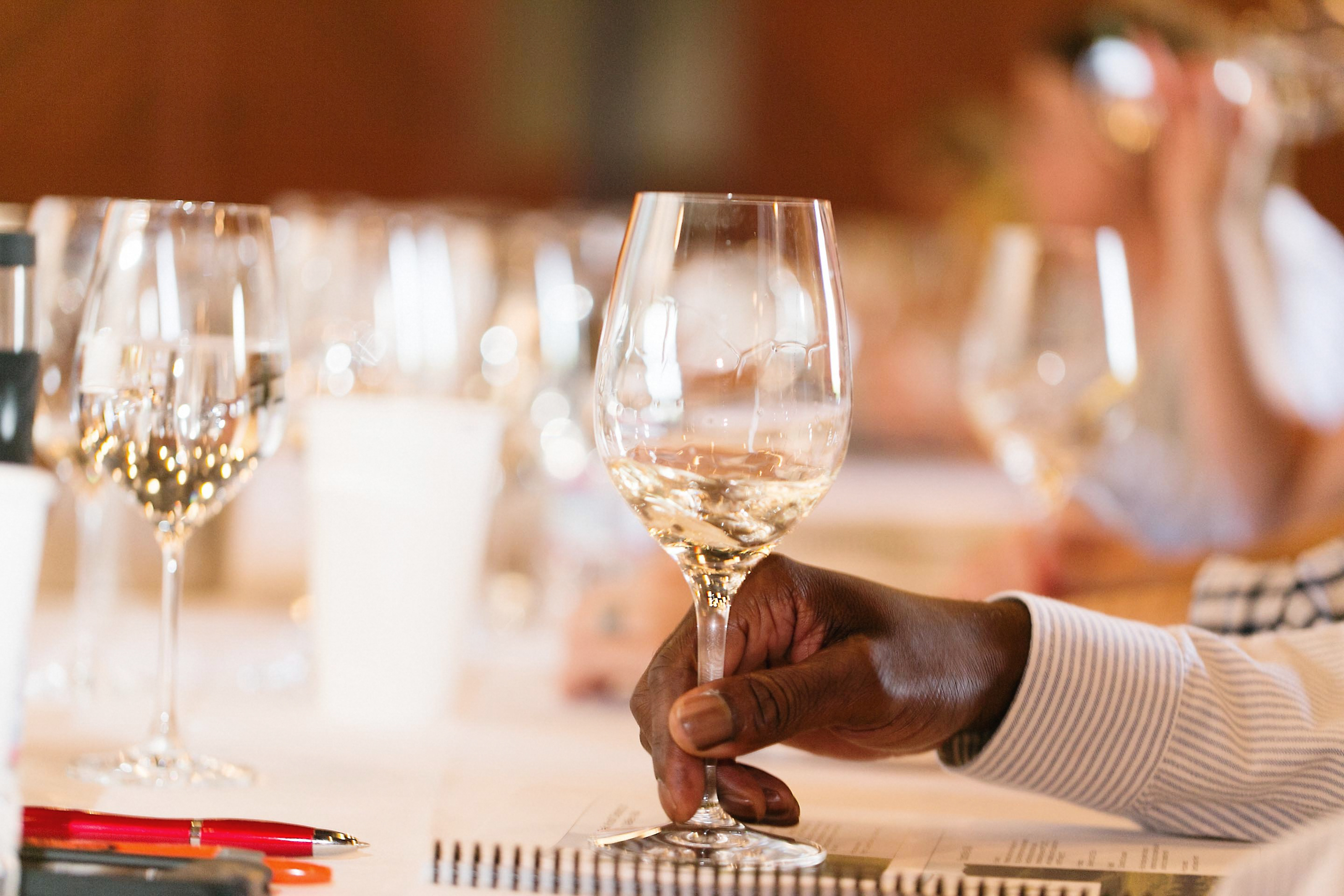 San Francisco Wine School - a Minerality in Wine tasting