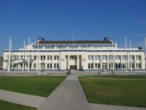 Exterior photograph of the Museum of History and Industry. Photo courtesy of MOHAI.