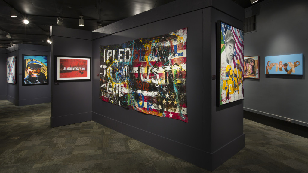 The Black Creativity Juried Art Exhibition features 104 works from African American artists from all over the country, including a dozen artists between the ages of 14 to 17. [J.B. Spector, Museum of Science and Industry, Chicago]