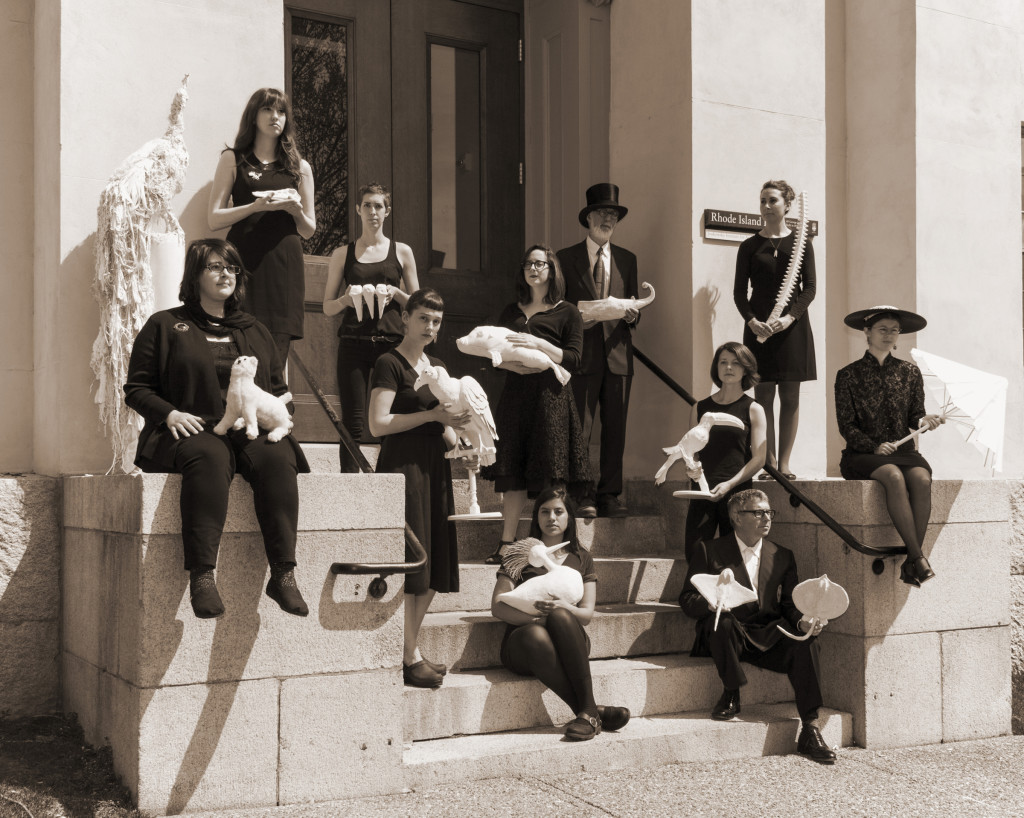 Members of the Jenks Society for Lost Museums (photo courtesy of Jodie Goodnough).