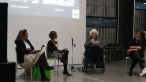 Francesca Polo in Turin on a panel moderated by Vastari to discuss collecting Old Masters. Speakers were M. Stubbé-Butôt and Sabina Corsini