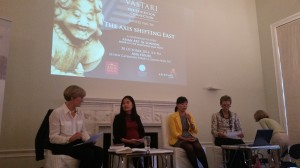 Asian Art discussion hosted by Vastari moderated by Georgina Adam journalist from The Art Newspaper