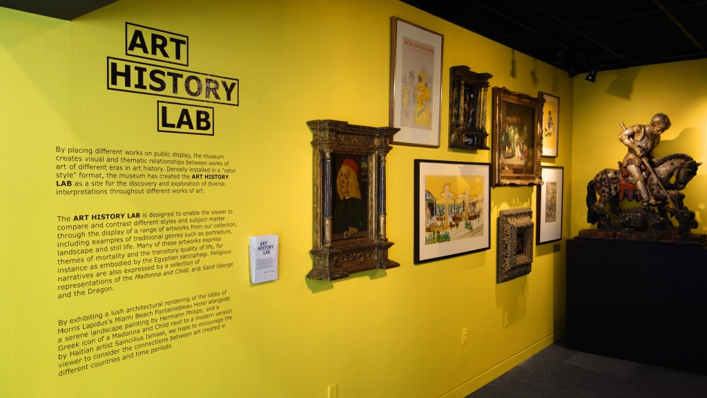 Art History Lab at the Bass Museum of Art