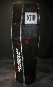 ACT UP Coffin from Missouri History Museum collection