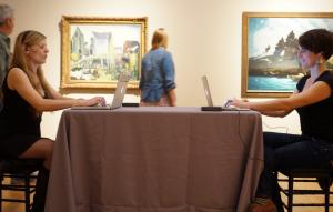 Biennial Artist Intervention 2013: Nate Aldrich, courtesy of PMA