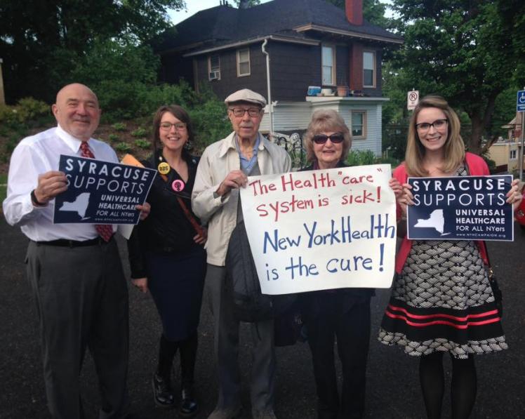 Syracuse healthcare advocates, 2016.