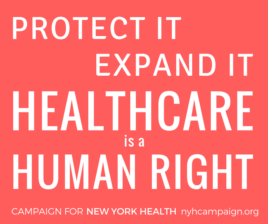 Protect it, Expand It: Healthcare is a Human Right