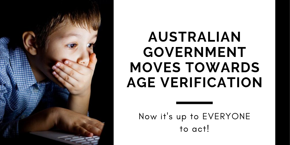 Australian Government Moves Towards Age Verification