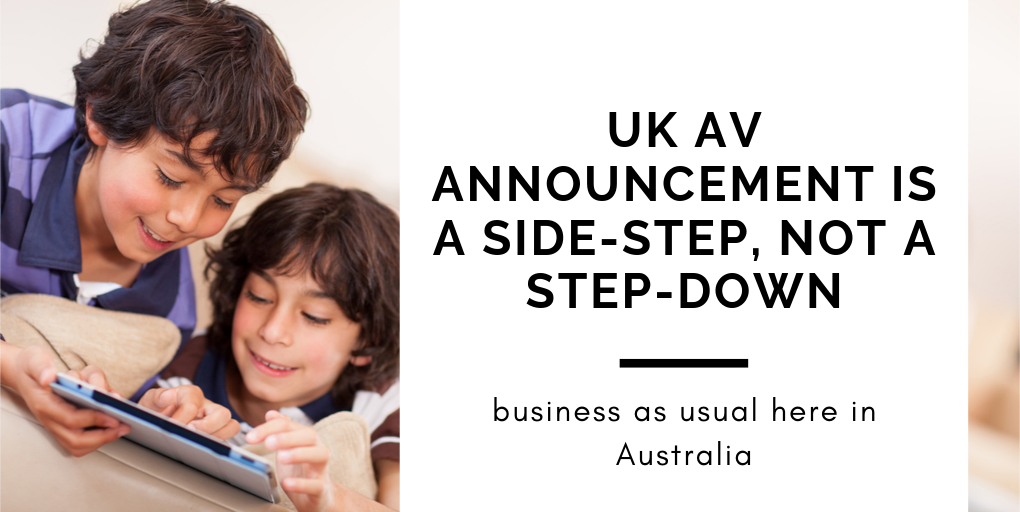 UK AV announcement is a side-step, not a step-down