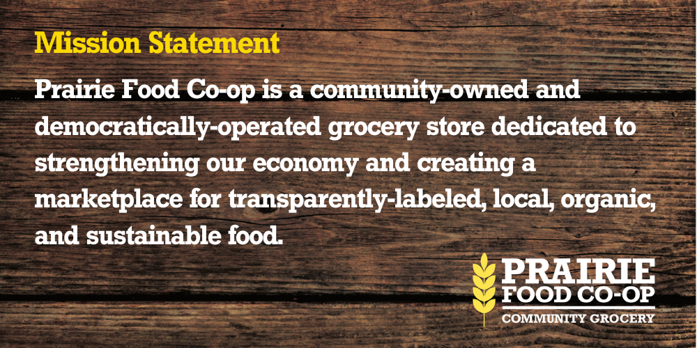 Prairie Food Co-op Mission Statement