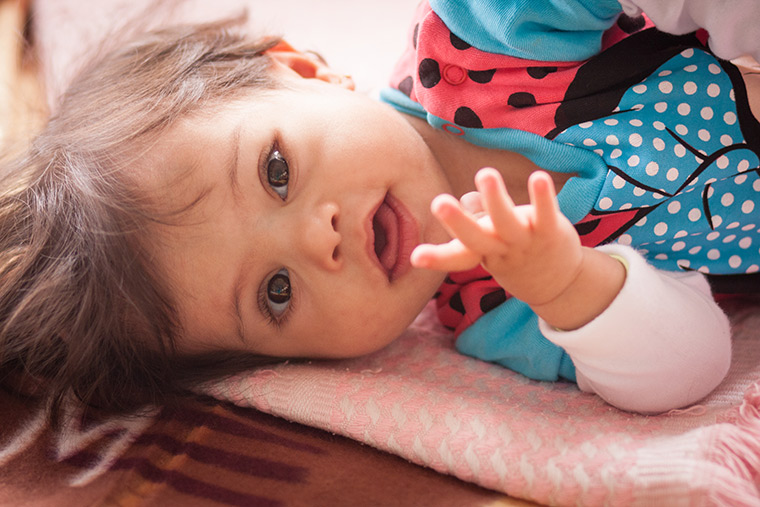 A toddler with Down Syndrome is just days away from getting her lifesaving heart surgery in Libya (Preemptive Love Coalition)