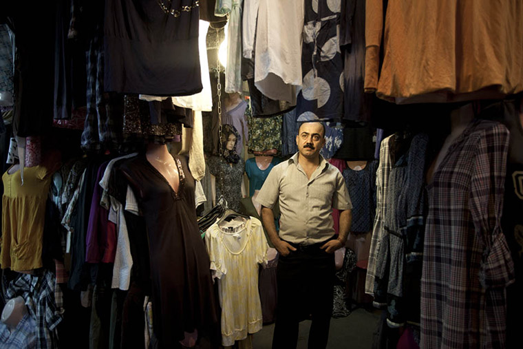 "8/30  ""Each day I am still here at 9 oclock, with my store open. During Ramadan we don't talk to each other much and we just patiently wait for the call to prayer, when it is time to break the fast--and for that I am ready, like a lion."" -Goran, shopkeeper"
