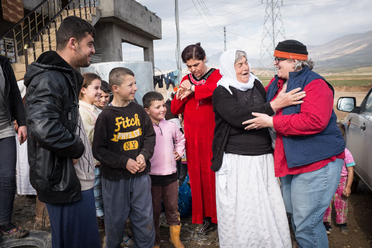When we met Muhammad and his family, they were living in an unfinished concrete block house. Newly displaced by ISIS in Iraq, they had few options.
