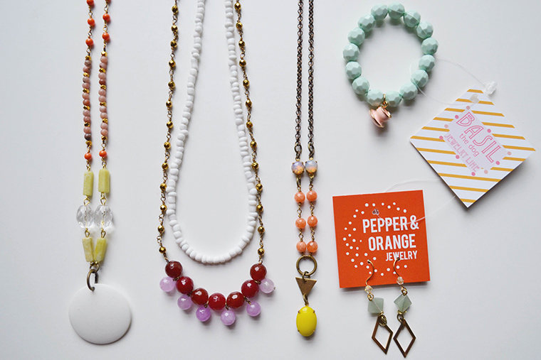 Pepper and Orange Jewelry is part of the Love Cups collective, raising funds so that displaced Iraqi women can start businesses of their own.