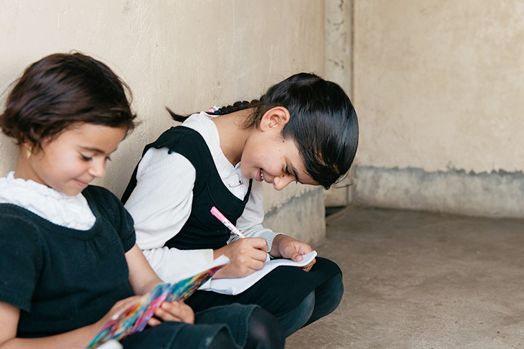 The math is simple for displaced children. Education = empowerment.
