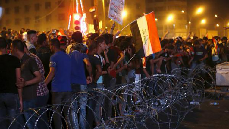 Impatience over government corruption and lack of services has pushed many Iraqis onto the streets in protest.