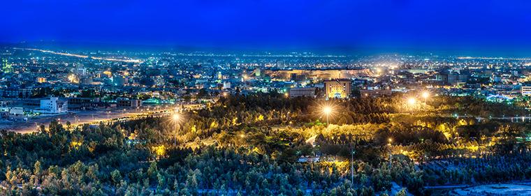 The capital of Kurdistan, it's known as Erbil in Arabic, and Hawler in Kurdish.