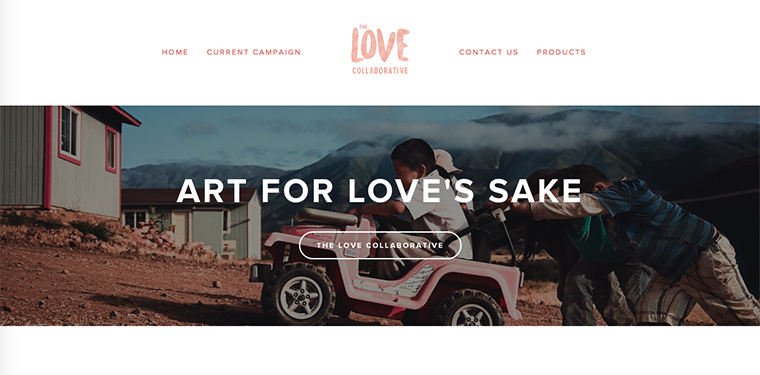The Love Collaborative website.