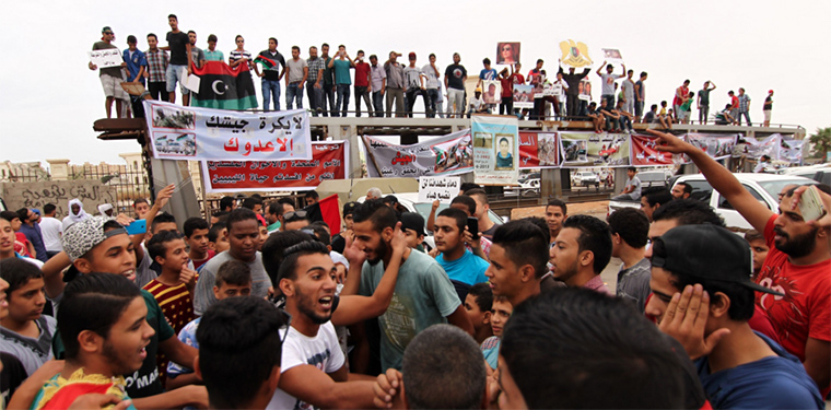 It's a tough time for Libyan youth, growing up in what is essentially a failed state.