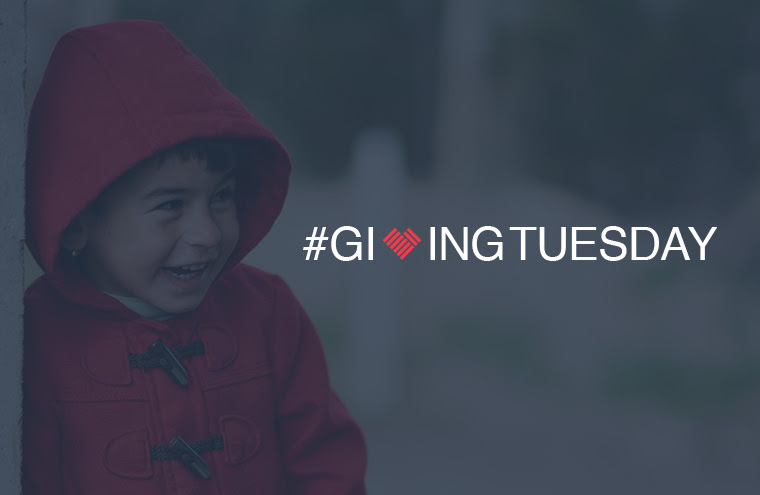 Change your world on #givingtuesday
