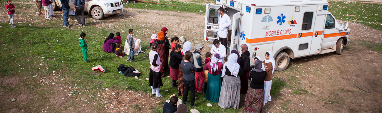 URGENT NEED: Help Us Care for ISIS Survivors.