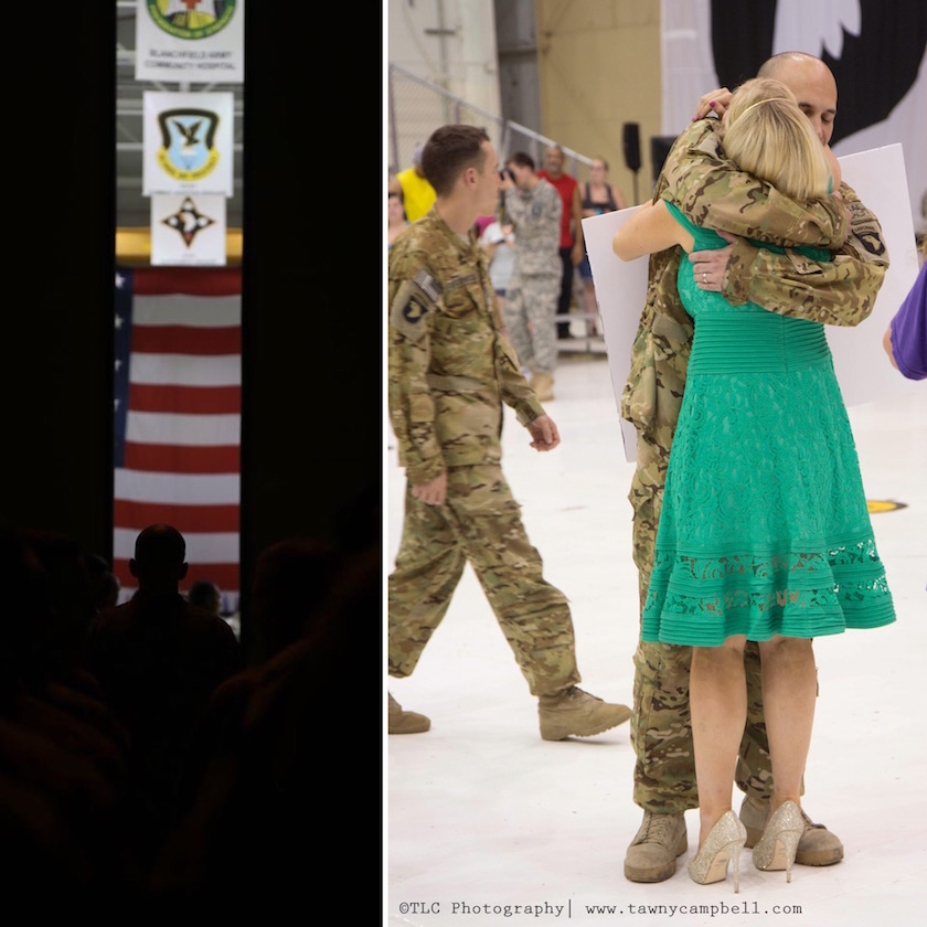 memorial day, homecoming, army wife