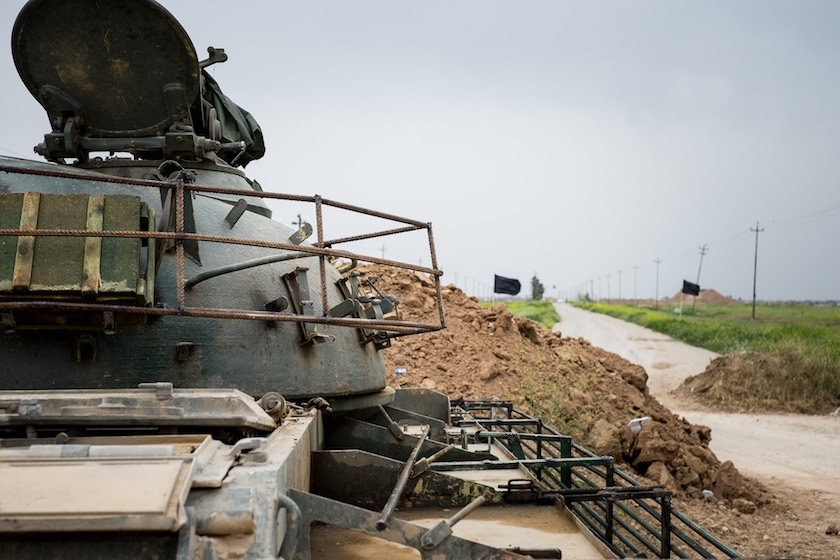 Front lines against ISIS in northern Iraq (Preemptive Love Coalition / Matt Willingham)