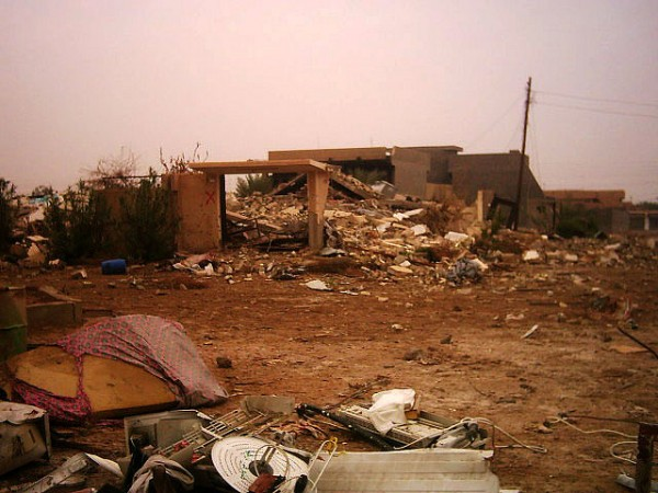 A destroyed home in Fallujah, Iraq.