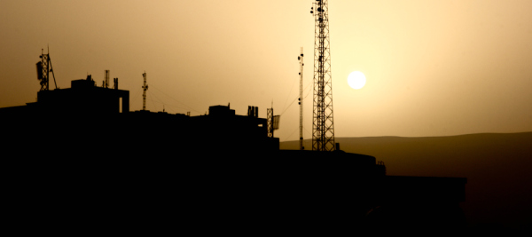 A sunrise in Iraq's northern region.