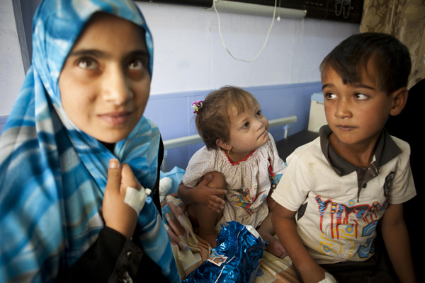 Noor and her friends count down the hours until their surgery.