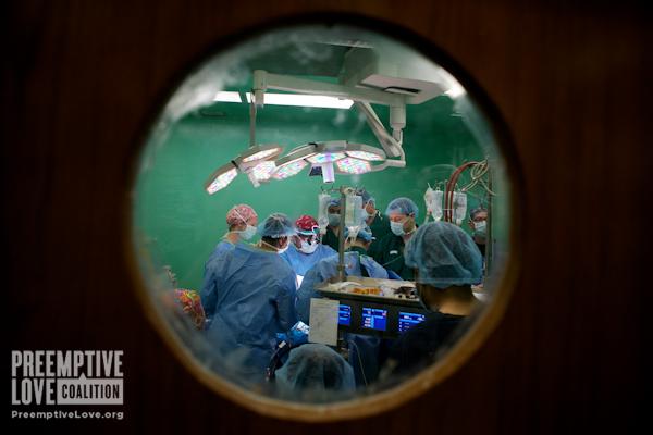 Doctor Novick and team work on Zahraa