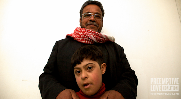 Hussain and his father