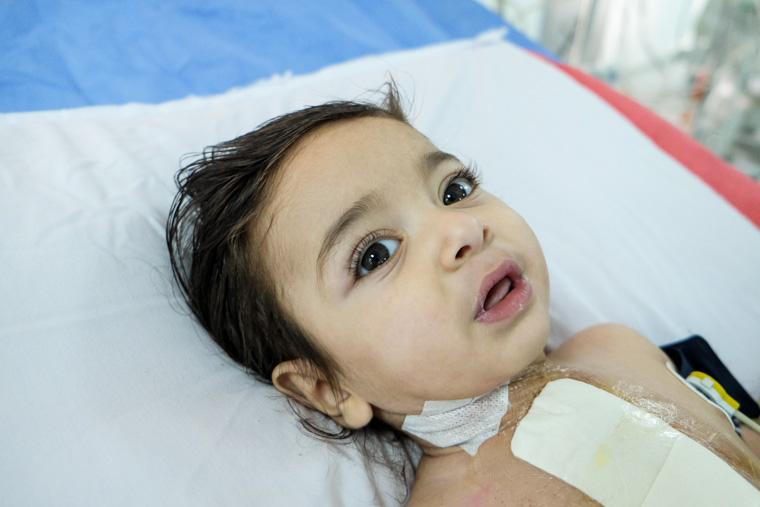 Baby Adam in the ICU